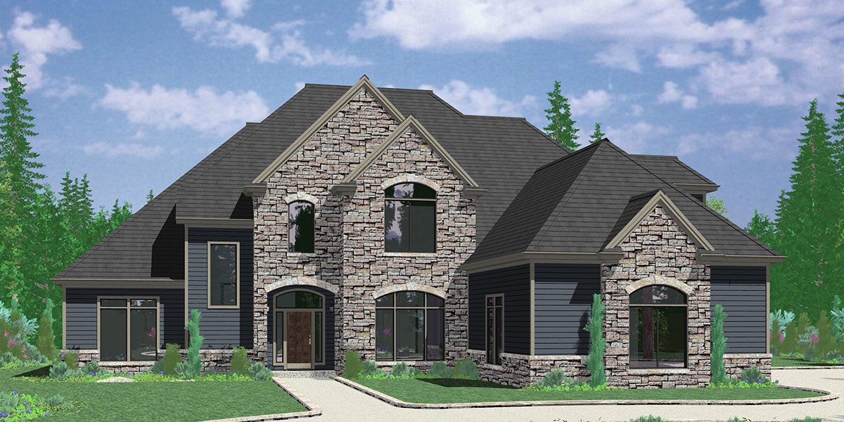 10090 Luxury house plans, main floor master bedroom, house plans with outdoor kitchen, house plans with outdoor living, 10090