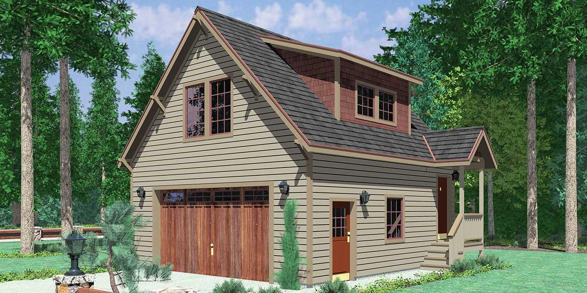 CGA-106 Carriage garage plans, guest house plans, 3d house plans, cga-106