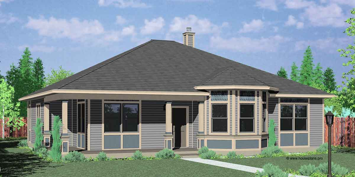 10153 Victorian house plans, one story house plans, house plans, house plans with wrap around porch, Portland house plans, 10153